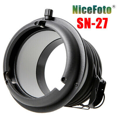 NiceFoto SN-27 Profoto Mount to Bowens Mount Converter Adapter Ring For Flash