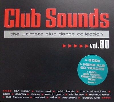 Club Sounds - Vol.80 (3 CDs) (2017)
