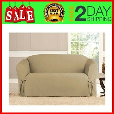 Magnificent Target Home Slipcover Soft Gray Micro Suede 58 Long Sofa Machost Co Dining Chair Design Ideas Machostcouk