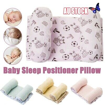Baby Infant Newborn Pillow Head Positioner Anti-rollover Blanket Support