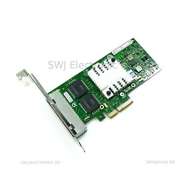 HP NC365T 4Port PCIe Ethernet Adapter 593743-001 593720-001 Full Profile