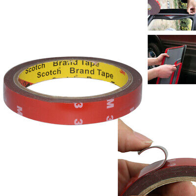 10mm 3M Vehicle Double Sided Car Adhesive Acrylic Foam Tape DIY Car Accessory