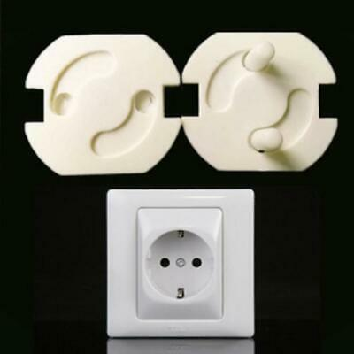 10PCS Safety Kids Baby Proof Electric Outlet Socket Plastic Cover for EU Plug