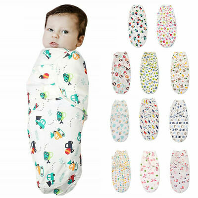Sleeping Bag Pure Cotton NewBorn Baby Swaddle Blanket Wrap For 0-6months