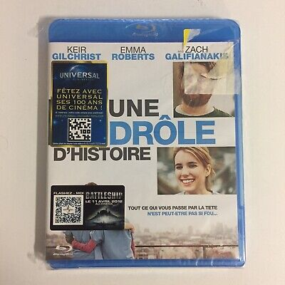 Une Drôle D'histoire Keir Gilchrist Emma Roberts Blu-Ray neuf sous blister c18