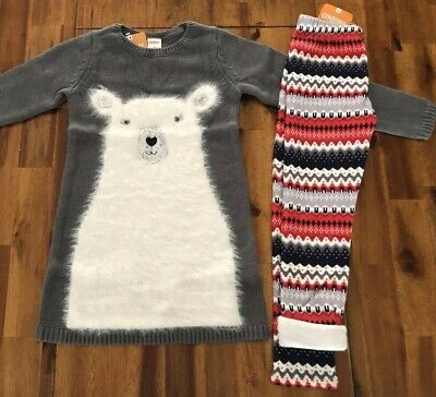 NWT Gymboree North Pole Party Fair Isle  Sweater Dress 4,5,6,7,8,10 Girls
