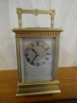 Excellent Richard & Co repeater carriage clock  c.1880/85 - overhauled 08/19.