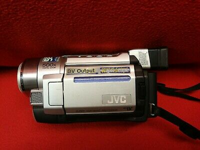 JVC GR-DVL166EK Camcorder  Video Camera DVL166 Made In Japan Mini DV Nightscope