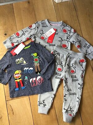 Boys F&F Christmas Clothes Brand New With Tags 18-24 Months