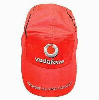 Vodafone McLaren Mercedes Alonso Cap - Red, V02D1RRC, One size