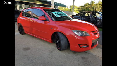 Mazda 3 Turbo MPS 2006 NO RESERVE! 6 speed Manual