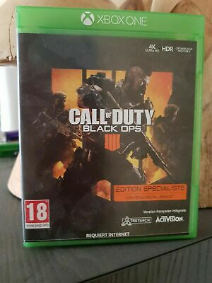 Call of Duty: Black Ops 4  xbox one Neuf sous blister pal fr