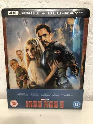 Steelbook Iron Man 3 Ultra HD 4K + Blu-ray Zaavi NEUF