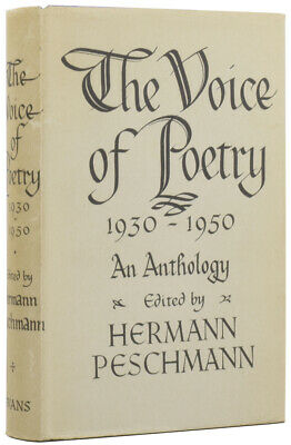 BETJEMAN AUDEN, YEATS / The Voice of Poetry 1930-1950 An Anthology First Edition