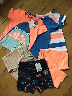 Boys Christmas Clothes Brand New With Tags Next F&F 6-9 Months
