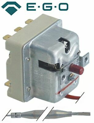 Safety Thermostat Switch-Off Temp. 350°C 3-Pole 20A Probe D 6Mm Probe L 89Mm