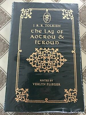 Easton Press THE LAY OF AOTROU AND ITROUN - J.R.R. Tolkien NEW Sealed