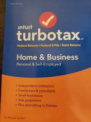 TurboTax Home and Business 2018, Brand New and Sealed