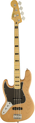 Squier Vintage Modified Jazz Bass `70s, Left-Handed, Maple Fingerboard Natural