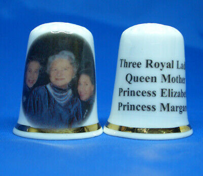 Birchcroft Porcelain China Collectable Thimble Flying Scotsman Steam Train
