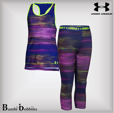 🔥 SALE Under Armour Girls Tank Top Vest Age 14-15-16 Years (Leggings Sold Out)