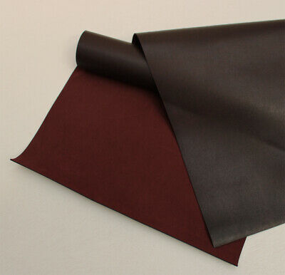 Cowhide Leather Corrected Grain 1 @ 60 cm  X 40 cm Black 1.4-1.6 mm Thick Firm