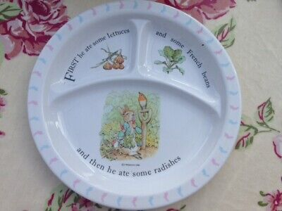 Peter Rabbit Toddler Divided Dish