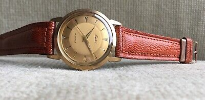 SUTER - Herrenuhr 33 mm mit AS 2390 Schweiz ca.1960 mint !