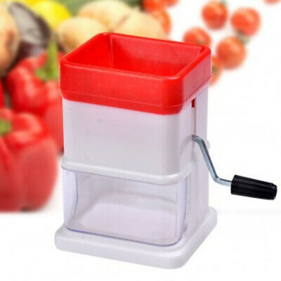 Hand Manual Ice Shaver Crusher Shredding Snow Cone Maker Machine Tool
