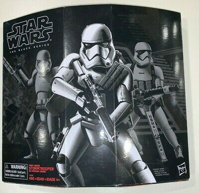 Star Wars The Black Series Amazon Exclusive First Order Storm Trooper with Gear