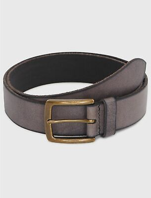 Lucky Brand Washed Grey Belt