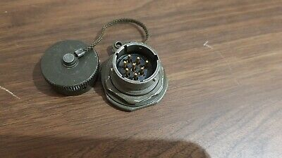 8 Pin Circular Connector Male Military Part
