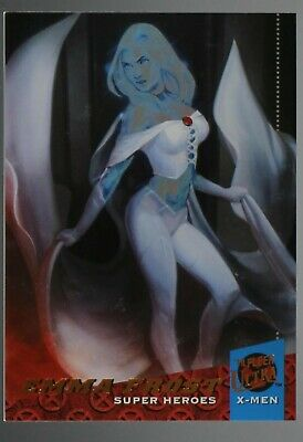 2018 Fleer Ultra X-Men Rainbow foil base variant card #69 EMMA FROST marvel
