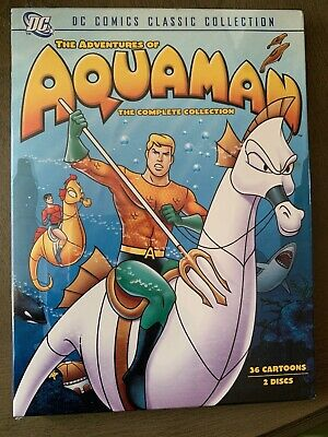 The Adventures of Aquaman - The Collection (DVD, 2007, 2-Disc Set) DC DVD NEW