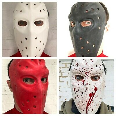 Jason Hockey Maschera Lattice Calore Banca Robber Halloween Venerdì Accessorio
