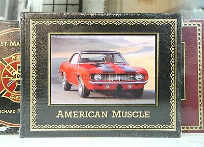 AMERICAN MUSCLE - Easton Press - LARGE BOOK - SEALED w/ BOX  -- CARS - SCARCE!