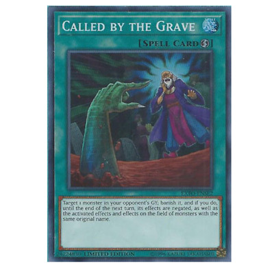 YU-GI-OH! Called By The Grave EXFO-ENSE2 Super Rare NM