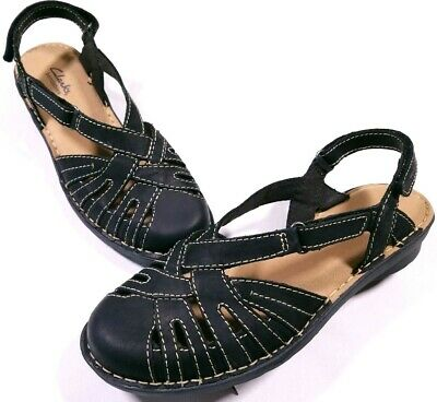 CLARKS BENDABLES NIKKI Rotary Sling Back Sandals Shoes Size