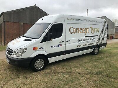 2012 Mercedes Sprinter Tyre Van 116k miles ex AA tyre built by Reading Pneumatic