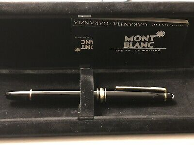Montblanc Meisterstück Black Resin Fountain Pen Unused Rare Model Years 70/89