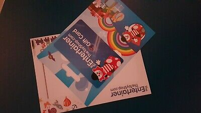 The Entertainer Toy Shop Gift Card - value: £100 FREE DELIVERY