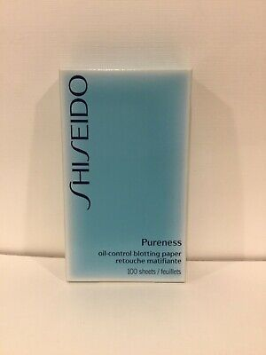 Shiseido Pureness Oil-Control 100 sheets Blotting Paper Brand New in Box!