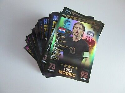 Match Attax 101 - Bundle of 182 cards (incl 100 Club & Limited Edition) - Mint