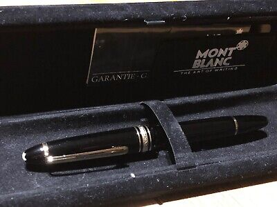 Montblanc Meisterstück 146 Black Fountain Pen. Used - Good Conditions Yrs 70/80