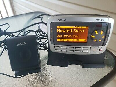 ACTIVATED SIRIUS Orbiter Receiver SR4000  W/ Home Power Supply and Antenna