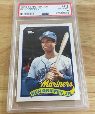 Ken Griffey Jr. 1989 Rookie PSA Graded 6 #41T Topps Comercio