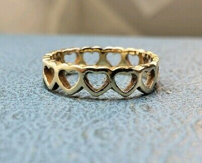 Retired James Avery Twisted Wire Heart Ring Size 4 75 34 99 Picclick