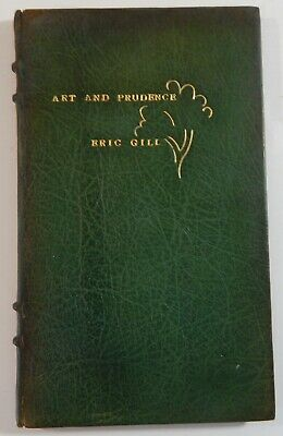 Katharine Pountkey, binder / Art and Prudence Limited Edition 1928