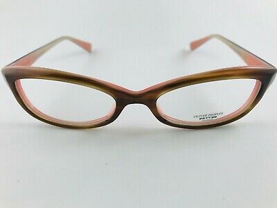 New Authentic Oliver Peoples Eyeglasses Marceau SI Brown Pink 51-18-138