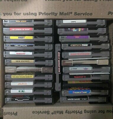 23 NES Nintendo Games Lot Discounted w/ dust Covers & two Free Manuals